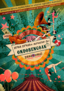 """Antzerkia: """"Ondorengoak"""" Zirika Zirkus @ Espartzako Kontzeju Etxean"""