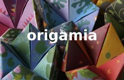 koloretako origamiak